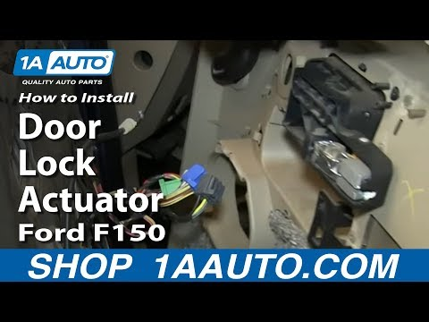 How To Replace Door Lock Actuator 04-08 Ford F150