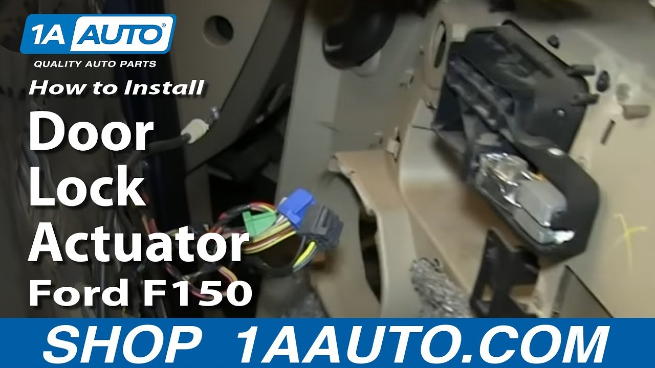 How To Replace Door Lock Actuator 04 08 Ford F150 Youtube Belt Diagram For A F 250 5 8 Engine