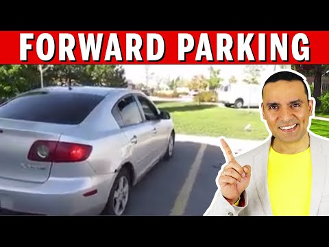 FORWARD PARKING - Made EASY || Toronto Drivers