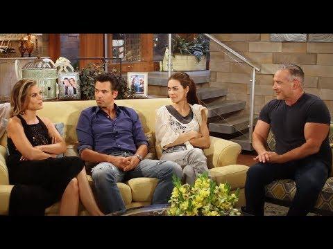 Y&R's Gina Tognoni, Jason Thompson & Amelia Heinle