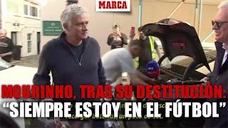 Mourinho, tras su destitución: