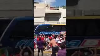 Esta es la acción que motivó suspensión del partido River vs Boca en final de la Copa Libertadores.