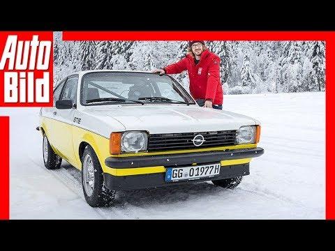 Opel-Wintertraining (2019) Drei Opel im Schnee