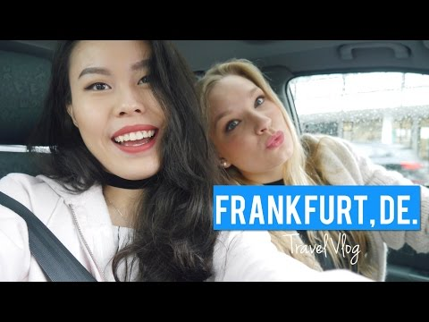 FRANKFURT VLOG   GERMANY Pt.1  2016 