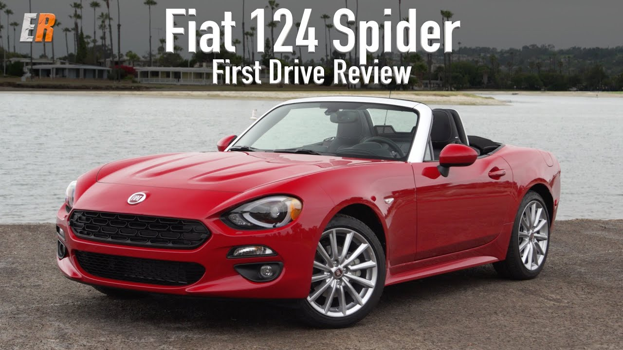 2017 Fiat 124 Spider is Back! Is it just a MX-5 Miata? Test Drive Review - YouTube