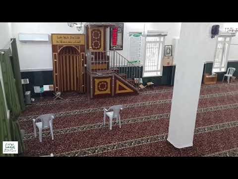 المسجد بحلته الجديدة