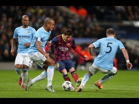 [HD] những pha rê bóng siêu ảo diệu của Messi.
