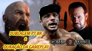 God Of War-Dublagem PT-BR & duração do jogo confirmados