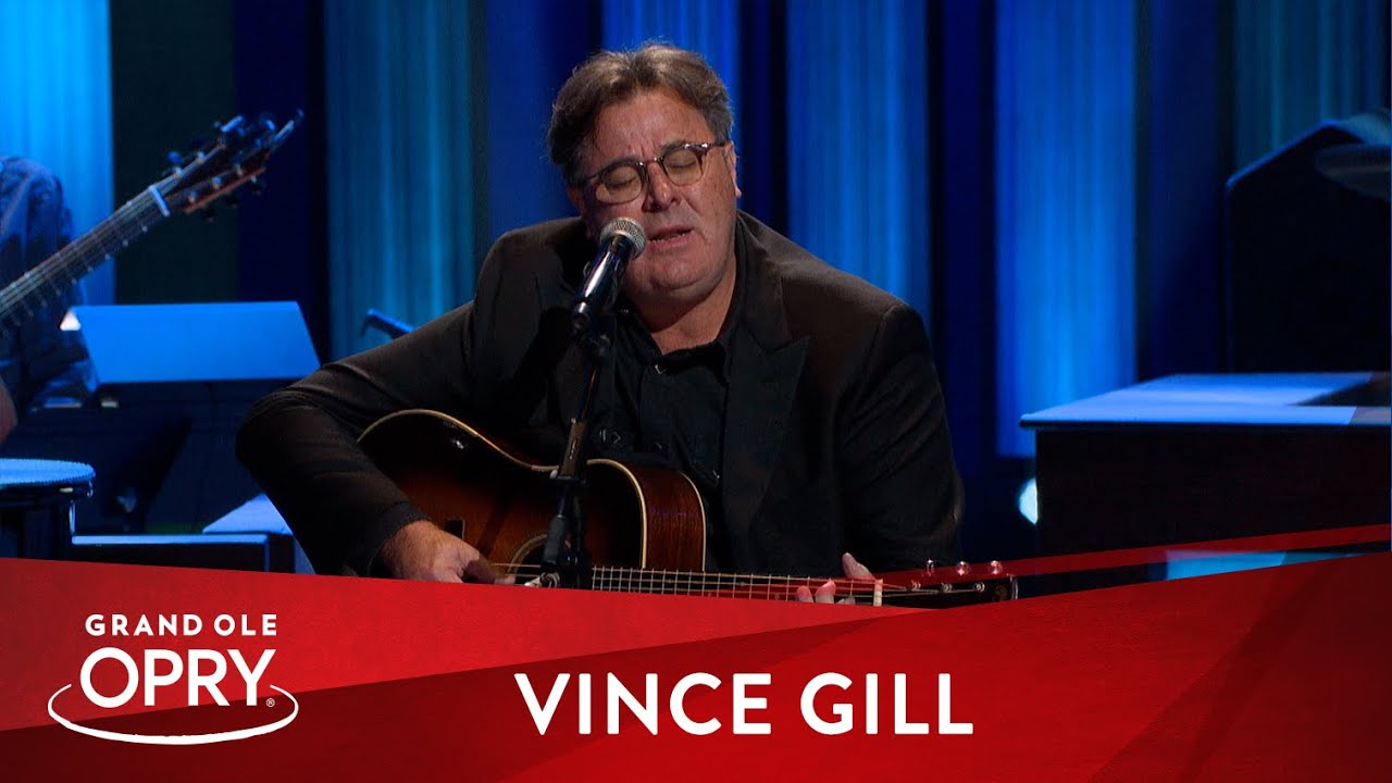 """Vince Gill – """"When A Soldier Dies""""   Live at the Grand Ole Opry"""