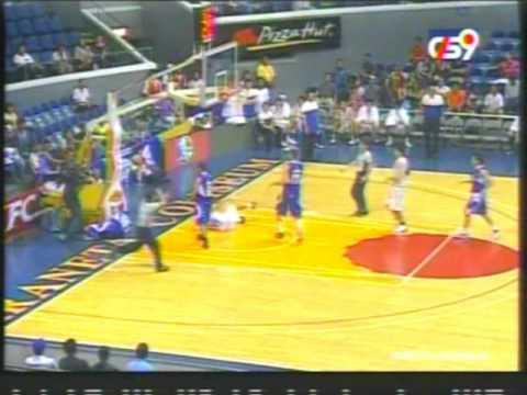 PBA '09-- SMART Gilas vs Burger King:  Wynne Arboleda Beats Up Alain Katigbac; Hits Casio's Face