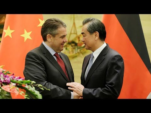 Chinese, German FMs discuss trade and security
