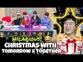 CHRISTMAS with TXT 투모로우바이투게더 REACTION | VLIVE Cracks