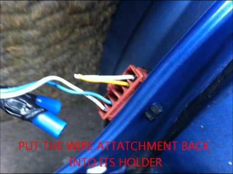 6x9 speaker wiring for peugeot 106 youtube rh youtube com peugeot stereo wiring colours peugeot 206 speaker wiring colours