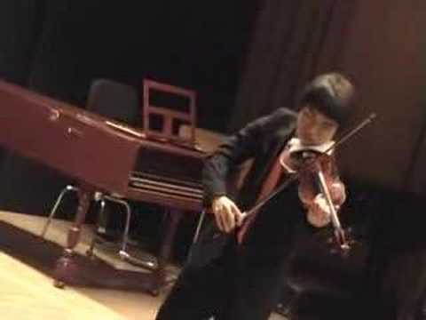 Hora Staccato (Dinicu) played by Mun Cheol Kim