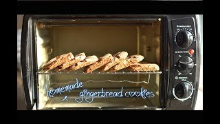 Simple Gingerbread cookies | molasses cookies using Prestige POTG 19 PCR OTG