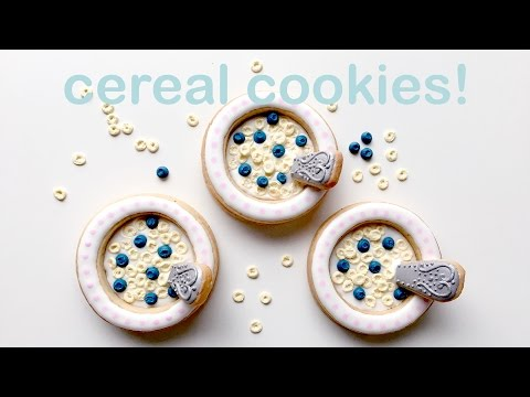 How To Decorate Cereal Cookies!