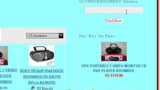 Discount Portable Boombox Online