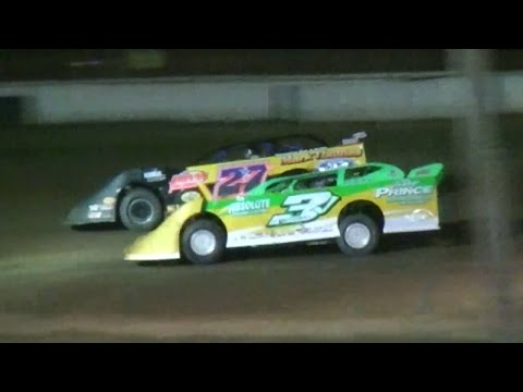 Crate Late Model Feature | McKean County Raceway | Ron Baker Memorial | 7-28-16 - dirt track racing video image