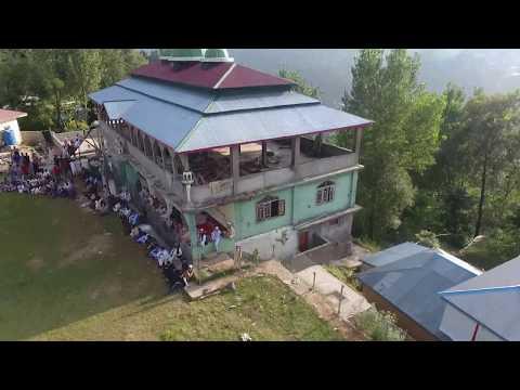 Burhan Wani Shaheed Tournament  in Birpani Bagh Azad Kashmir Ariel Footage
