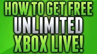 *FREE* UNLIMITED 1 Month Xbox Live Gold Trials [April 2014]