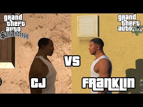 CJ vs Franklin - Who does it better?