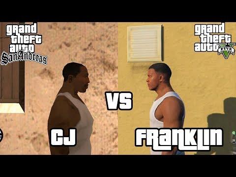 CJ vs Franklin - Who does it better?