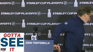 GOTTA SEE IT: John Tortorella Walks Away From Podium After Two Questions
