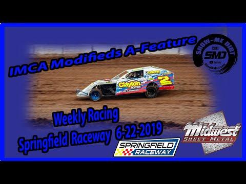 S03-E316 ICMA Modifieds A-Feature - Springfield Raceway 6-22-2019 #DirtTrackRacing