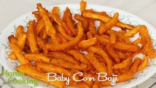 Baby Corn Bajji Recipe | Ventuno Home Cooking