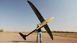 Unmanned Aircraft - Long Range Made in a Small Garage - First Awkward Attempts