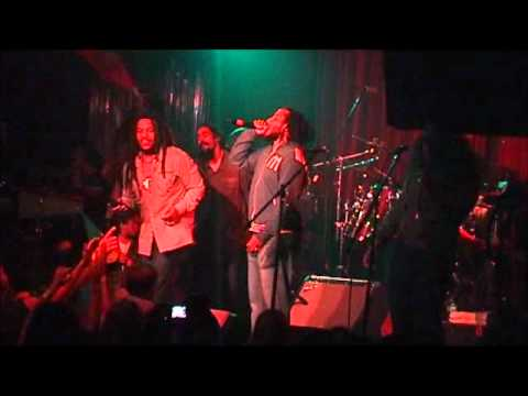 Stephen Marley, Ziggy, Cedella, Damian - Could You Be Loved -  Miami, Fl. May 30, 2007 Upgrade