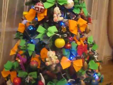 Видео Декор комнаты своими руками на Новый год 2016 DIY Зимний декор Украшения Сделай сам