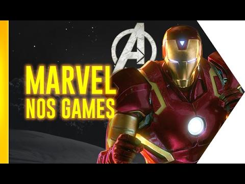 A hora da Marvel (e dos Vingadores) nos games! | OmeleTV