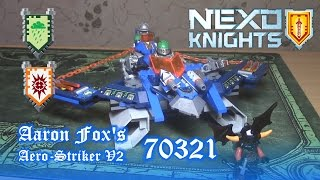 видео Аэро-арбалет Аарона Nexo Knights