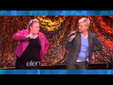 Memorable Moment Ellen and Rebel Wilson Do 'Shoop'2672