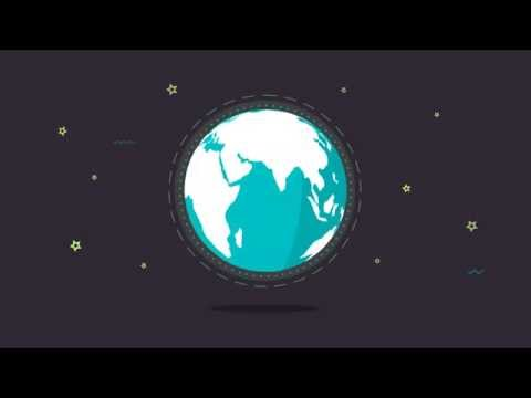 Free After Effects #3: 2D Earth animation thumbnail
