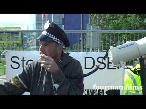 Occupy V The Arms Fair! - London ExCel Centre 08 09 13