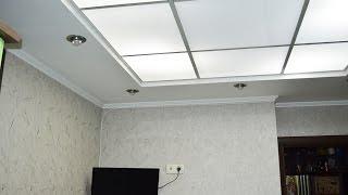 Потолок Армстронг. Потолок в виде окошка(Если Вы желаете превратить Ваше кухонное помещение в действительно необычный и уютный уголок, предлагаю..., 2015-12-27T07:04:03.000Z)