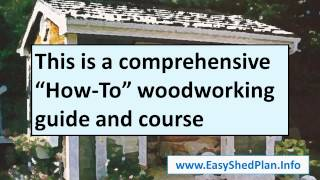 Best Wooden Shed And Barn Plans - Big Collection Of Shed Plans