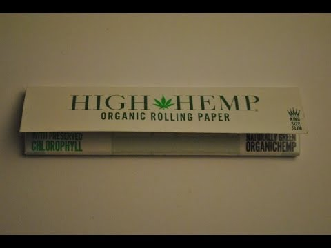 How to Roll the Perfect Joint.  . . . . .High Hemp Organic Rolling Papers / Vape Hacks Explained