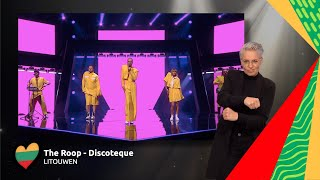 The Roop - Discoteque | Litouwen 🇱🇹 | Sign dance | ESC21