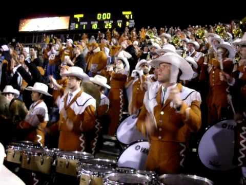 Texas @ Mizzou '09 - Eyes of Texas / Texas Fight
