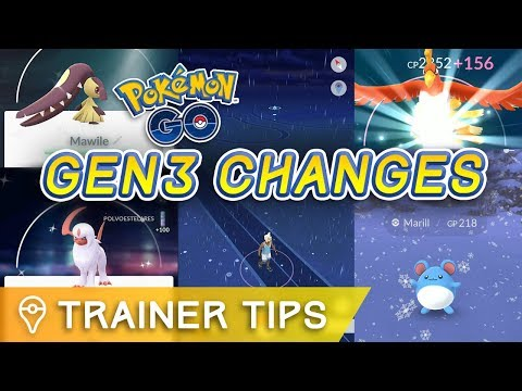 16 CHANGES YOU NEED TO KNOW ABOUT POKÉMON GO GEN 3