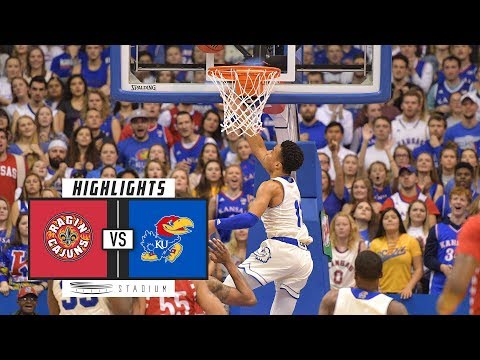 Louisiana-Lafayette vs. No. 2 Kansas Basketball Highlights (2018-19) | Stadium