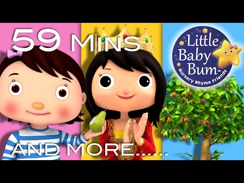 I Had A Little Nut Tree | Plus Lots More Nursery Rhymes | 59 Minutes Compilation from LittleBabyBum!