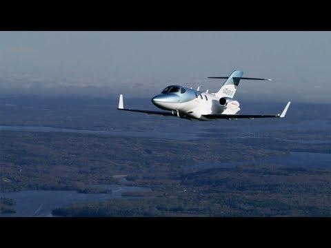 Flying the Improved HondaJet Elite – BJT