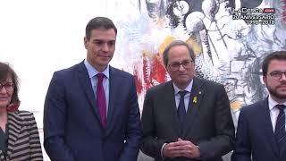 Reunión Pedro Sánchez y Quim Torra -  20-12-18