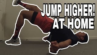 Improve Your Vertical Leap at Home With These Exercises Video