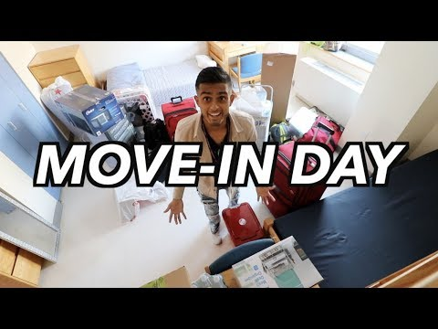HOW TO BE YOU! College Move In Day Vlog | New York University