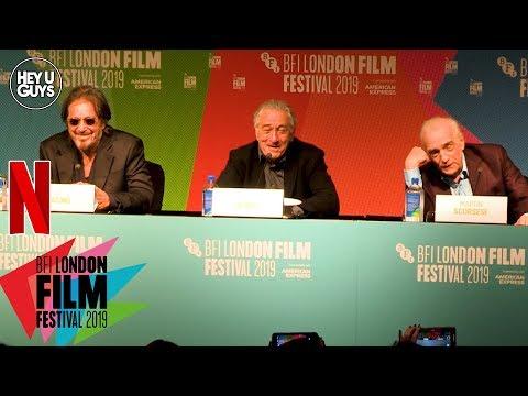 Robert De Niro, Al Pacino & Martin Scorsese - The Irishman Press Conference in Full